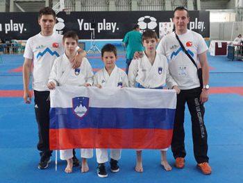 Bor Hartl osvojil 7.mesto na Balkanskem prvenstvu v karateju.