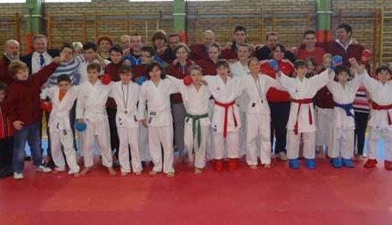 3. kolo šolske karate lige v Podčetrtku