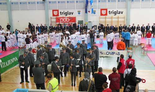 Karateisti iz Kozjanskega in Obsotelja so se udeležili 3.PKT Slovenije
