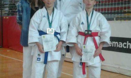 2. medalji iz mednarodnega karate turnirja Ljubljana OPEN 2013