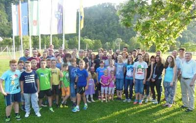Klubski piknik 2014 v športnem parku Kozje