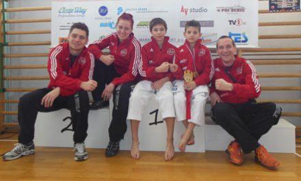 3 zlati in 2 srebrni medalji na 10. mednarodnem turnirju Nestl Žgank
