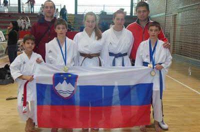 Vrnili so se z petimi medaljami – LJUBLJANA OPEN 2014