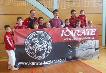 V nedeljo, 12.4. se je 10 članov Karete kluba Kozjansko in Obsotelje udeležilo 15. Pokala za občino Rogaška Slatina.