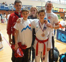 Prva medalja v novi karate sezoni na 19. Međimurje OPEN karate turnirju.