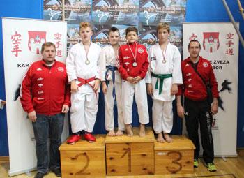 Dve bronasti in dve srebrni medalji iz Maribor OPEN 2015