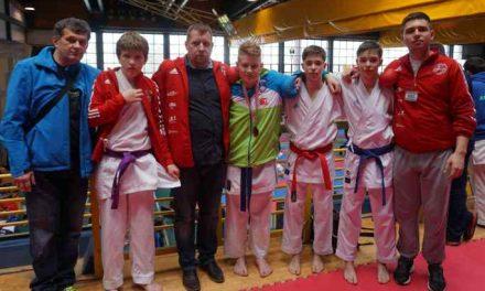 Karate klub Kozjansko in Obsotelje osvojil komplet medalj
