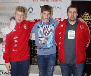 Žan Luka Lesnika osvojil odlično 3. mesto na močnem karate turnirju v BiH.