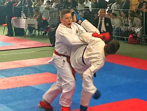 Tekmovanje v športnih borbah
