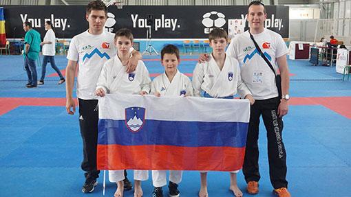 Tekmovalni olimpijski karate