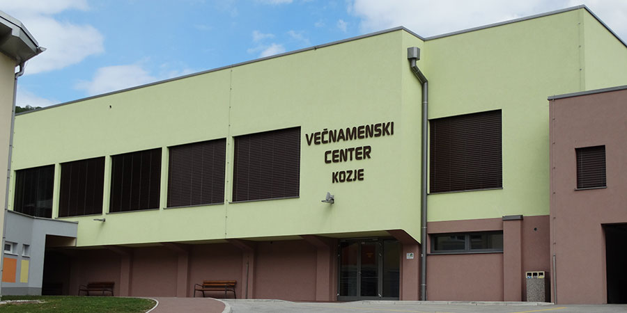 Večnamenski center Kozje