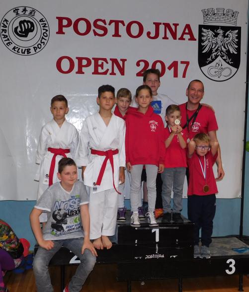 Luka Bele in Jakob Žumer zlata na MT »Postojna OPEN 2017«, skupno kar 9.medalj