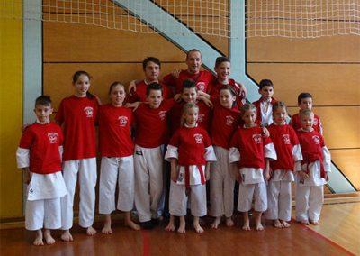 Ekipa Karate kluba Kozjansko in Obsotelje