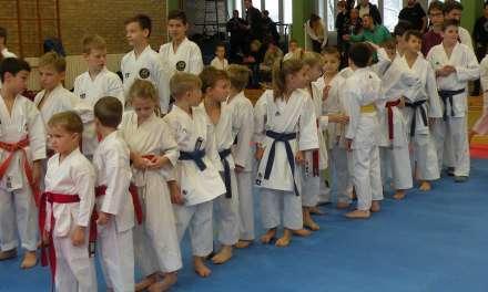 Organizirali še zadnjo tekmo v letu 2017 -2. kolo šolske karate lige