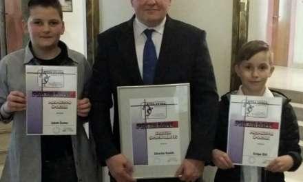 Grega Zbil, Jakob Žumer in Zdravo Romih prejeli priznanja športne zveze Rogaška Slatina.