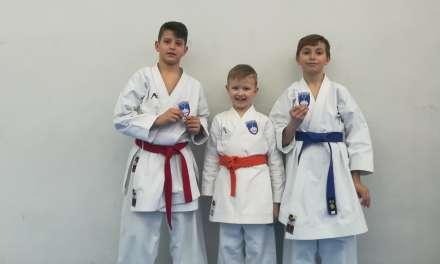 BALKANSKO PRVENSTVO-največje karate  tekmovanje za otroke,  na katerega potujejo kar  TRIJE ČLANI KARATE KLUBA KOZJANSKO IN OBSOTELJE