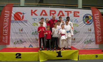 Karateisti osvojili 5 medalj na Slovenia Open 2018