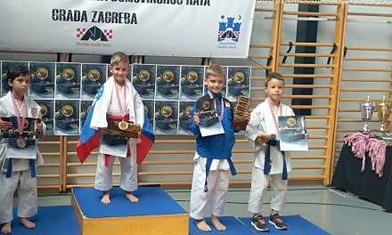 Vinko Juraja v Zagrebu osvojil dve medalji