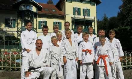 Karateisti Kozjanskega in Obsotelja na kampu v Dobrni 2018
