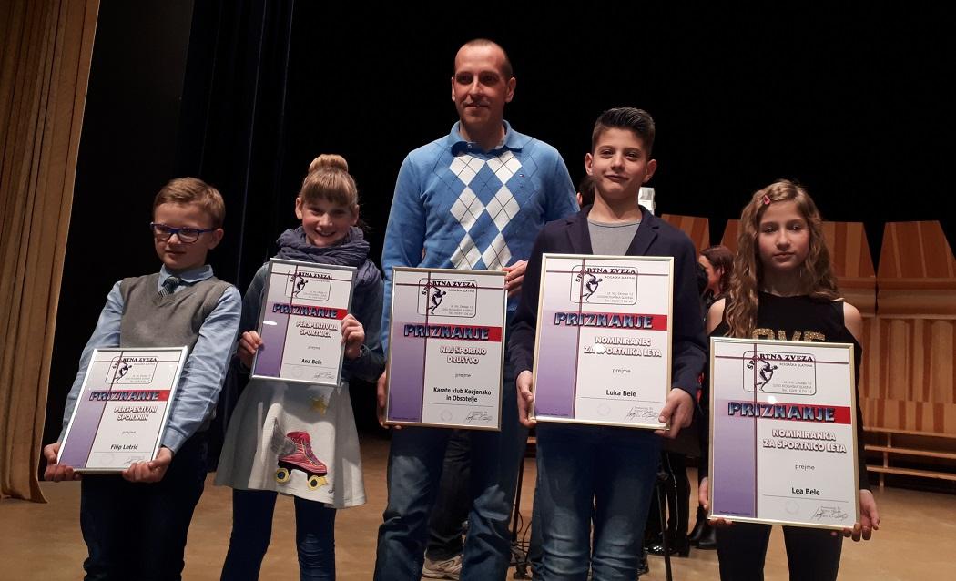 Naj klub v občini Rogaška Slatina v letu 2018 je Karate klub Kozjansko in Obsotelje