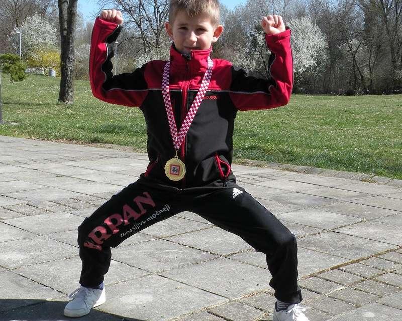 Vinko slavil na 11. karate kupu prijateljstva.