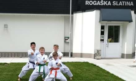 Vinko, FIlip, Grega in Luka, člani karate kluba Kozjansko in Obsotelje bodo nastopili na Balkanskem prvenstvu 2019