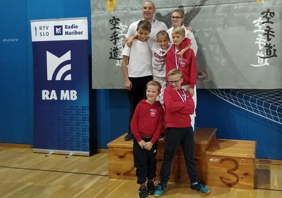 5.tekmovalcev = 5.medalj za karate klub Kozjansko in Obsotelje