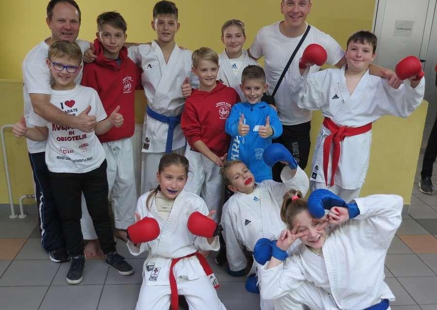 Vinko, Leon in Lara državni prvaki Slovenije v karateju za leto 2019