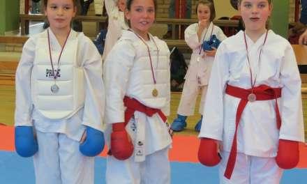 Karate klub Kozjansko in Obsotelje organiziral 3.kolo medobčinske lige 2019/20