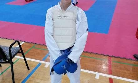 Lenart Ploštajner osvojil medaljo na 4.koli medobčinske karate lige 2019/20