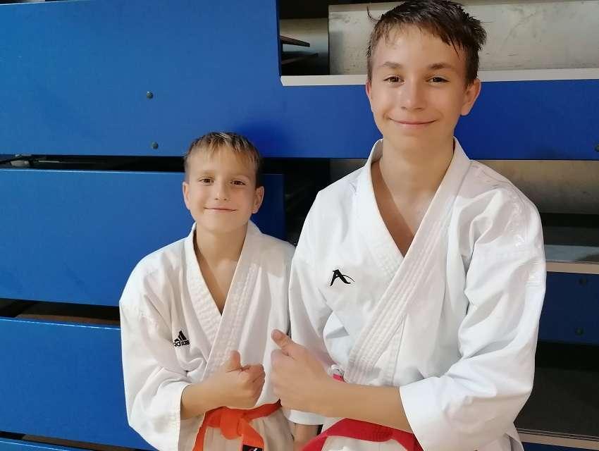Grega ZBIL in Leon SODIN sta se konec septembra udeležila otroških reprezentančnih priprav.